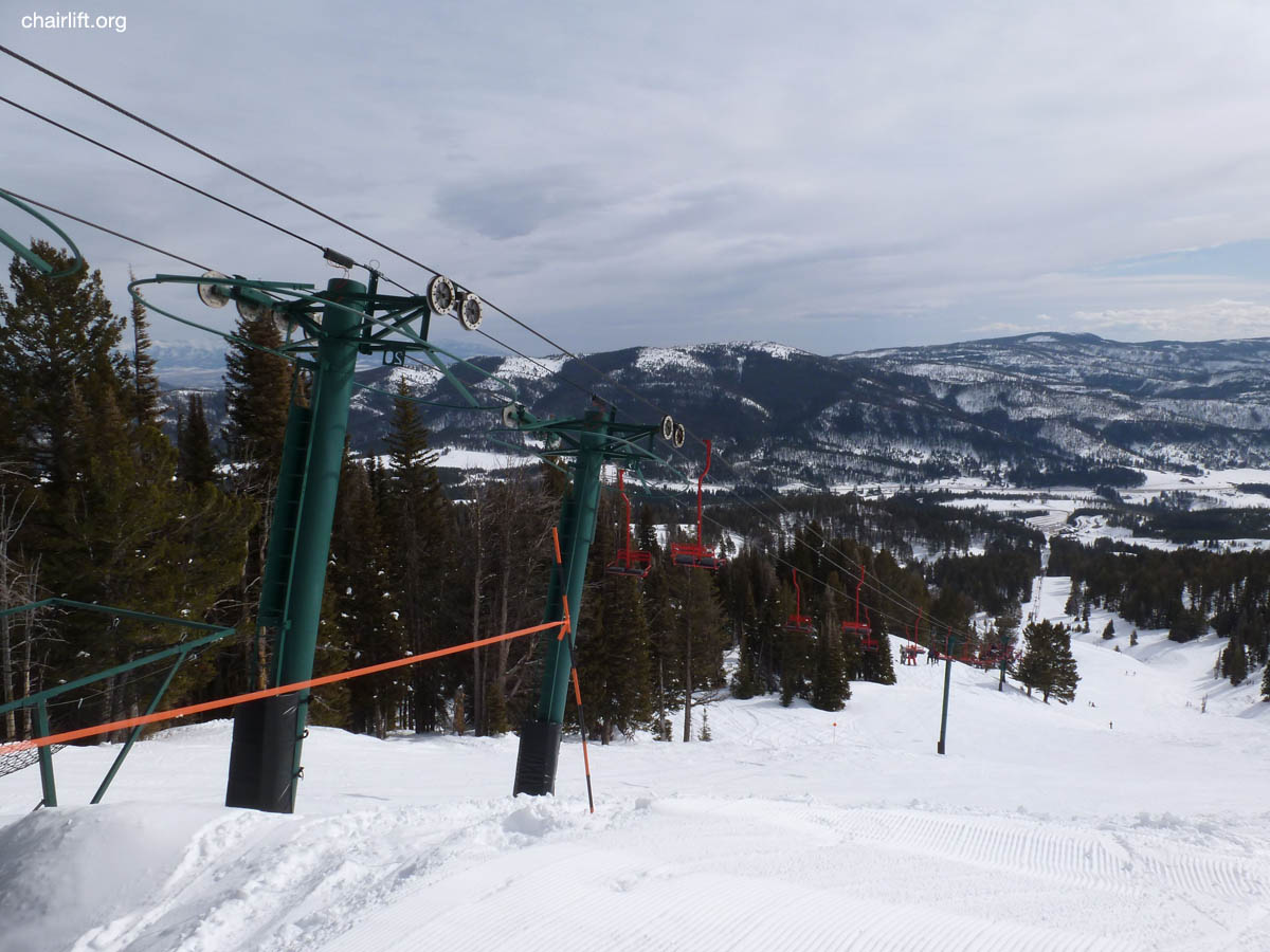 The Chair Was Removed. It Has Been Replaced By Two New Triple Chairs  Following Different Alignments. The Alpine Lift Will Live On At Mt. Spokane  Washington ...