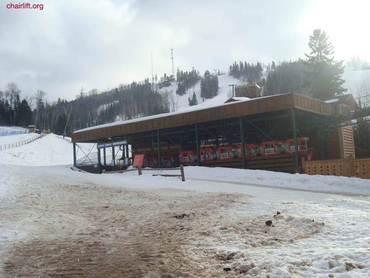 lutsen ski lifts, gondola and history