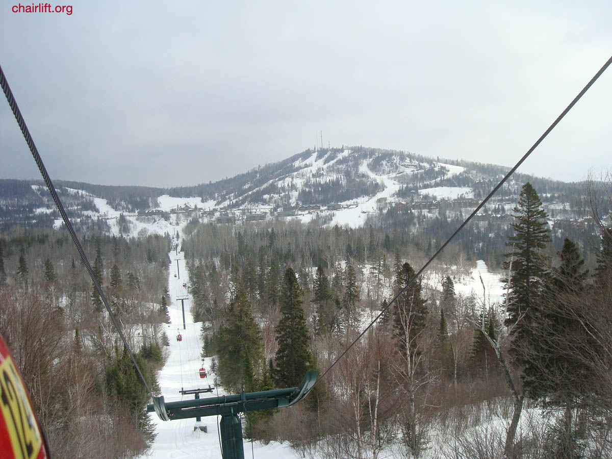 lutsen ski lifts, gondola and history
